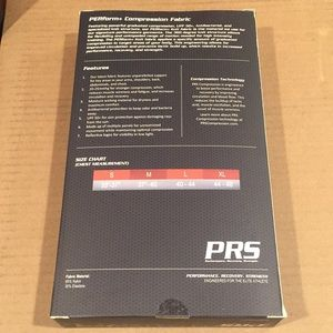 PRS Compression Shirts - Brand New PRS Men's Compression Long Sleeve Shirt